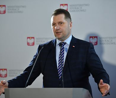 """Przemysław Czarnek krytykuje strajk kobiet. """"Skrajna nieodpowiedzialność, a wręcz przestępcza działalność"""""""