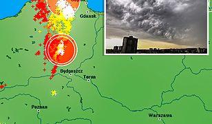 Pogoda. Rano strefa burz i ulew objęła Pomorze, a kolejne rozbudowywały się w Wielkopolsce i w Lubuskiem