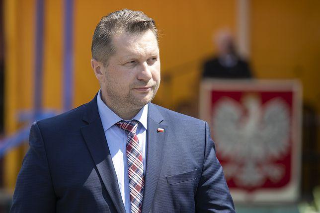 Minister edukacji Przemysław Czarnek nie cieszy się sympatią nauczycieli i uczniów