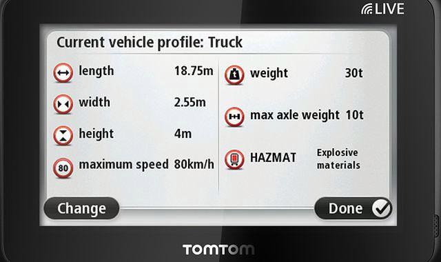 Nowa nawigacja dla ciężarówek