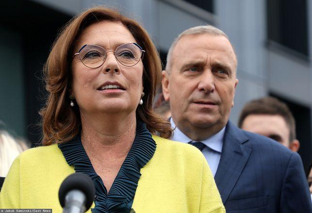 Grzegorz Schetyna i Małgorzata Kidawa-Błońska. Jaki jest program KO na wybory?