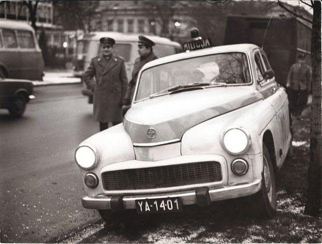 Warszawa w służbie milicji