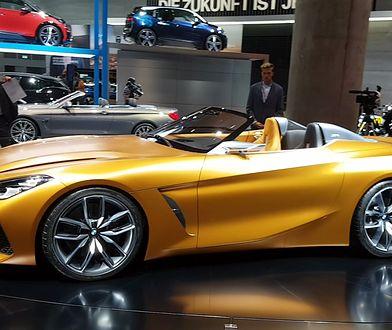 BMW Concept Z4 na salonie samochodowym we Frankfurcie