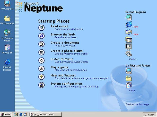 Activity Center skompilowane przez jednego użytkownika forum Beta Archive