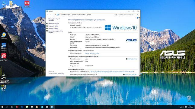 Nie mogłem się oprzeć by zaktualizować do Windows 10 :)