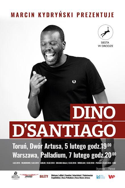 Dino d'Santiago - wg Rolling Stone'a Król nowego funku na koncercie w Warszawie