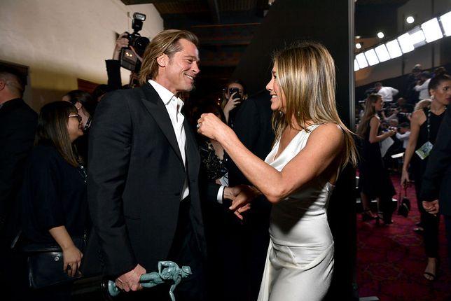 Brad Pitt i Jennifer Aniston zakochani? Hollywoodzka swatka nie ma wątpliwości