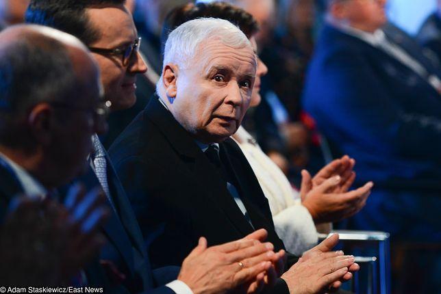 Wyniki wyborów do Senatu nie są zadowalające dla Jarosława Kaczyńskiego.