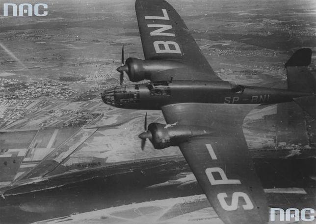 """Samolot PZL-37 """"Łoś"""""""