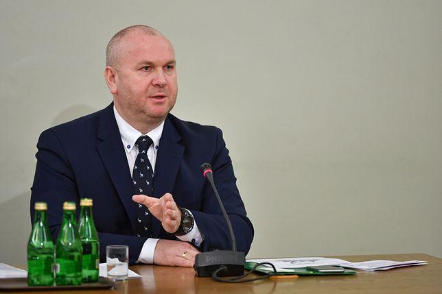 Paweł Wojtunik zeznaje przed sejmową komisją śledczą ds. VAT