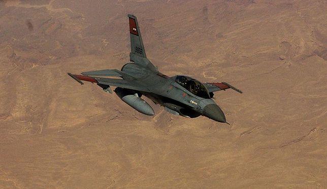 F-16 egipskich sił powietrznych