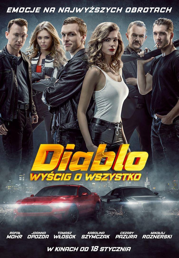 """Podwójna Mistrzyni Europy w driftingu na plakacie """"Diablo. Wyścig o wszystko"""""""