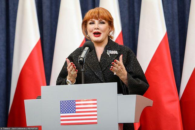 Georgette Mosbacher informuje WP o swoim wyjeździe z Polski