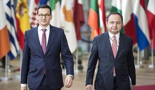 Zdaniem Szymańskiego szybki wyjazd premiera z Brukseli nie był niezwykły. Uważa, że opozycja dramatyzuje