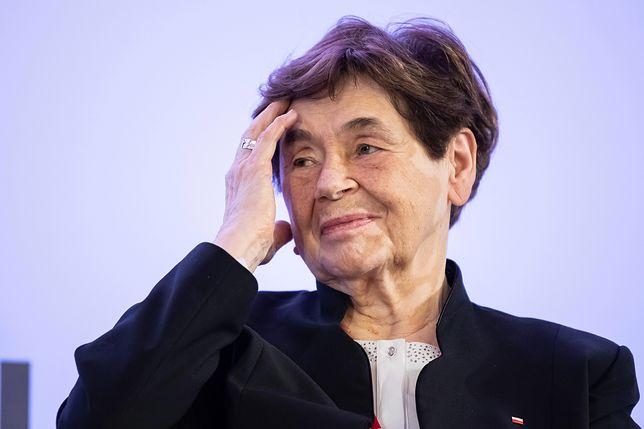 Zofia Romaszewska: prezydent jest młody. Nie zna rzeczywistości onych czasów