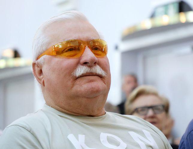 """Lech Wałęsa o odwołanej wizycie Donalda Trumpa. """"To przez huragan, ale w Polsce"""""""