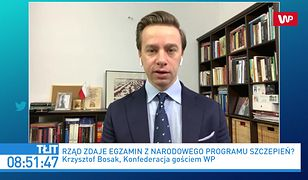Szczepienia na COVID-19. Jasne stanowisko Krzysztofa Bosaka