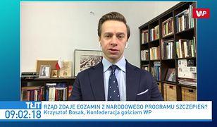 Zamieszanie wokół szczepienia Zbigniewa Ziobry. Komentarz Krzysztofa Bosaka