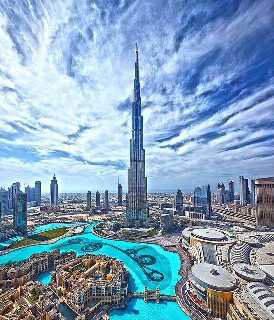 Krajobraz Dubaju