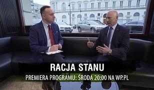 """Gen. Różański: niestety, bezpieczni nie jesteśmy. Nowy program """"Racja stanu"""" o 20:00 na WP.pl"""