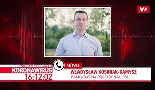 """Koronawirus w Polsce. Władysław Kosiniak-Kamysz o propozycjach rządu. """"Potrzeba zmian. To malutka tarcza"""""""