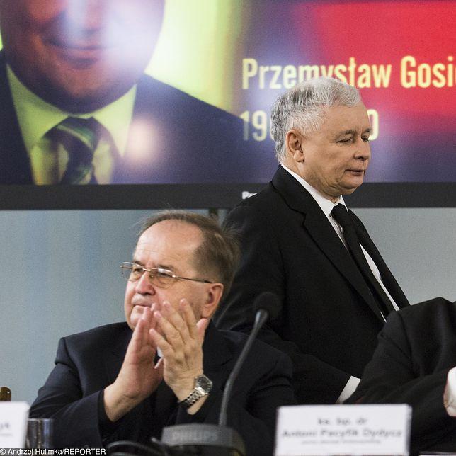 Jarosław Kaczyński i o. Tadeusz Rydzyk mają być sobie niezbędni