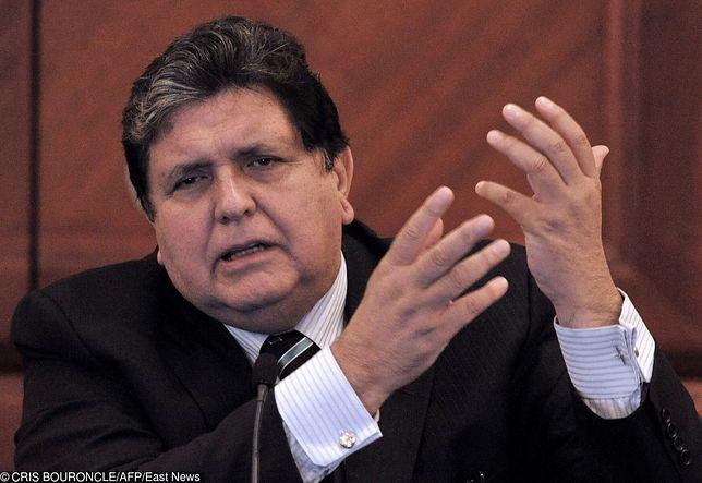 Były prezydent Peru popełnił samobójstwo. Tuż przed aresztowaniem