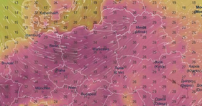 Padł rekord ciepła w czerwcu. 38,2 st. C. w Lubuskiem