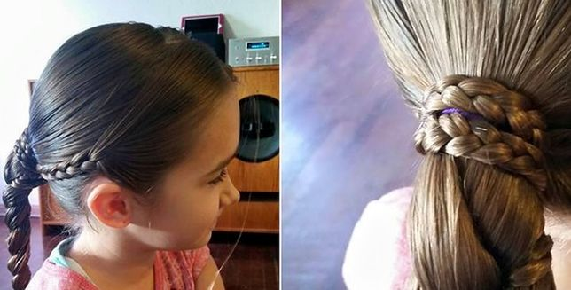 Uczy innych czesać włosy
