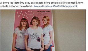 """Okładkę """"Wysokich Obcasów"""", które do kiosków trafią w najbliższą sobotę, pokazała na swoim Facebooku dziennikarka czasopisma."""