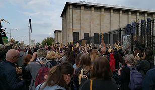 Zagraniczne media dostrzegły protest w centrum Warszawy