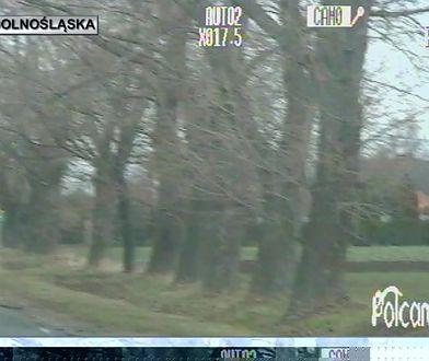 Pościg w Strzelinie. Jechał 140 km/h, omal nie potrącił policjanta