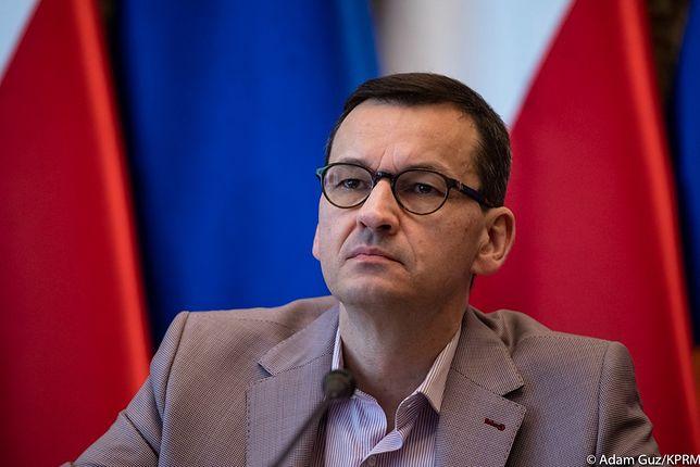 Mateusz Morawiecki w mocnych słowach o sytuacji na Białorusi