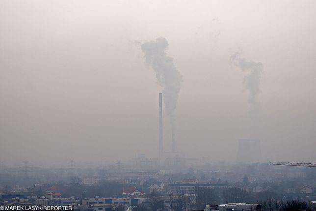 Smog Kraków - 17 grudnia. Uwaga - zła jakość powietrza
