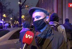 """Strajk Kobiet w Warszawie. Doszło do starć z policją. Śpiewak: """"Mówią, że zażądał tego Jarosław Kaczyński"""""""