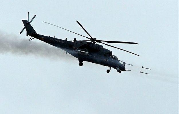 Śmigłowiec Mi-28 rosyjskich sił powietrznych