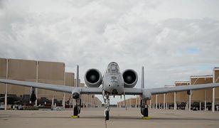 Samolot wojskowy A-10C Thunderbolt przypadkowo odpalił rakietę nad Arizoną