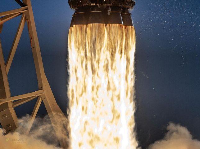 Oglądaj na żywo start rakiety Falcon 9. W kosmos poleci robot CIMON i ECOSTRESS
