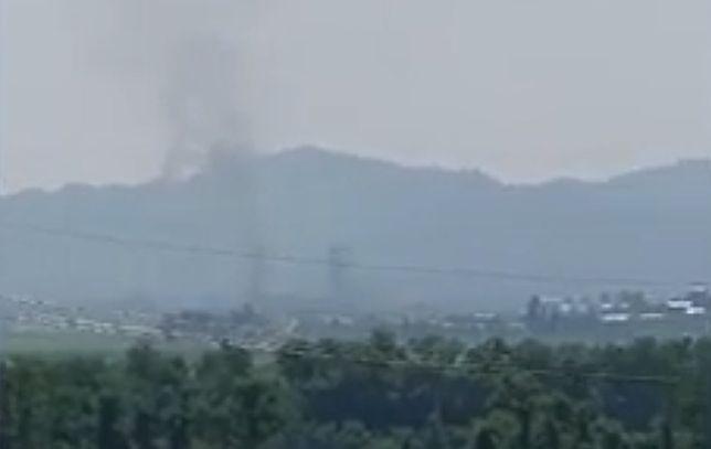 Korea Północna wysadziła biuro łącznikowe w Kaesong. Seria eksplozji i dym nad miastem