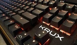 Krux Meteor to budżetowa klawiatura mechaniczna, której daleko od tandety
