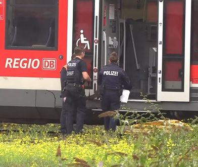 Bomba domowej roboty znaleziona w niemieckim pociągu