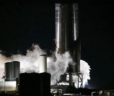 Starship SN8 przeszedł kluczowy test