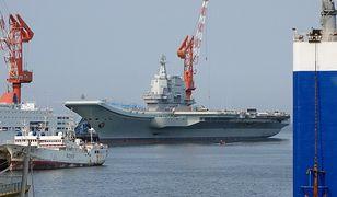Napięcie w Azji. Rejs chińskiego lotniskowca w pobliżu Tajwanu pokazem siły