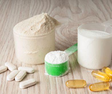 Walina jest składnikiem suplementów przyjmowanych przez sportowców.