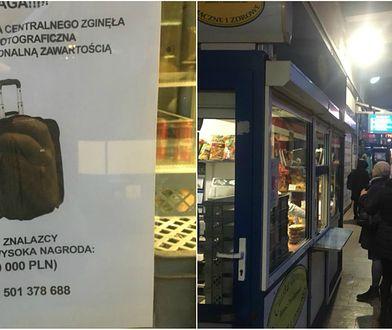 W okolicach Dworca Centralnego zaginęła walizka z profesjonalnym sprzętem fotograficznym