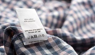 Materiały, z których wykonane są ubrania, często nijak mają się do tego, co można przeczytać na metce