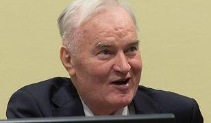 Ratko Mladić przed Trybunałem w Hadze