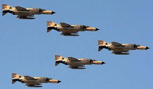 Myśliwce F-4 Phantom II w barwach irańskich sił powietrznych