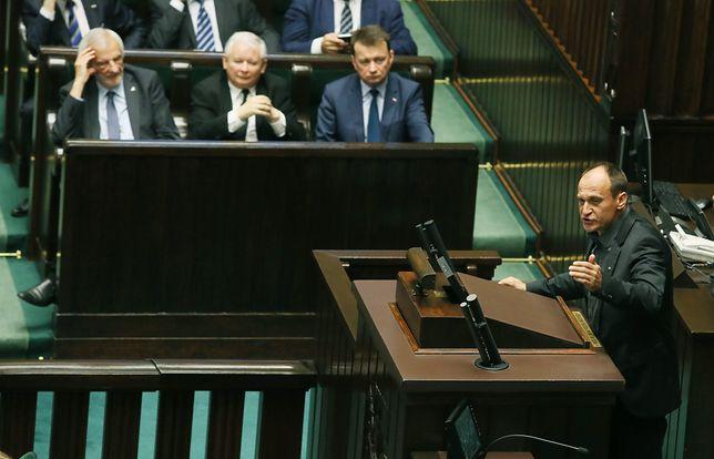 Sejm, Paweł Kukiz i Jarosław Kaczyński