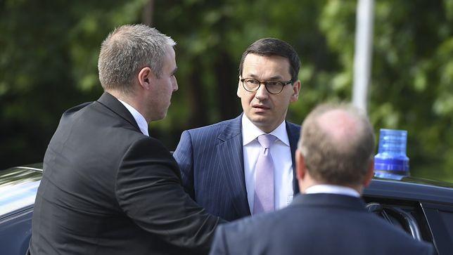 Premier Mateusz Morawiecki podczas szczytu UE w Sofii